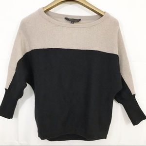BCBG MAXAZRIA Kinsley Color Block Sweater
